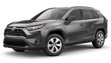New 2019 RAV4 LE AWD